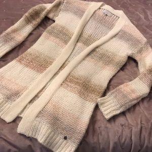 Soft Striped Cardigan